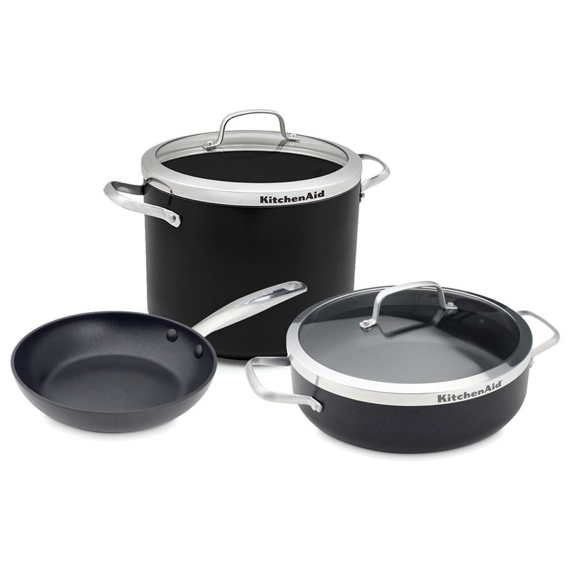 KitchenAid – Premium Non-Stick Induction 3pc Combo Pack