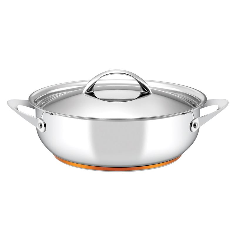 Essteele – Per Vita 28cm Covered Sauteuse 5.2Ltr (Made in Italy)