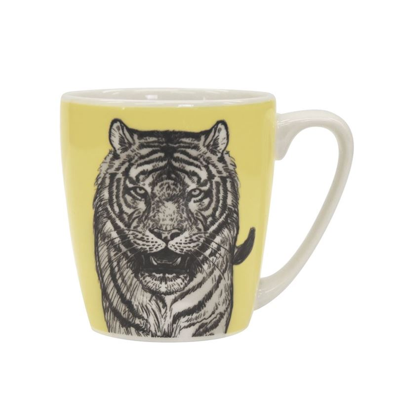 Queens by Churchill – The Kingdom Tiger Mug 300ml (Made in England)
