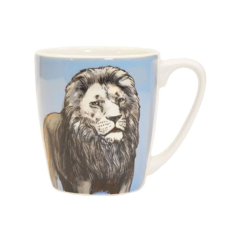 Queens by Churchill – The Kingdom Lion Mug 300ml (Made in England)
