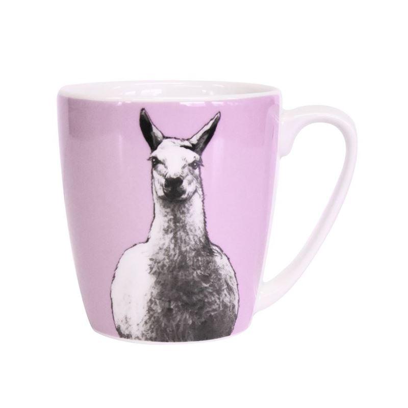 Queens by Churchill – The Kingdom Llama Mug 300ml (Made in England)
