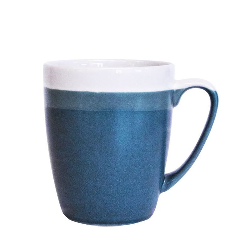 Queens by Churchill – Cosy Blends Stone Blue Mug 400ml (Made in England)