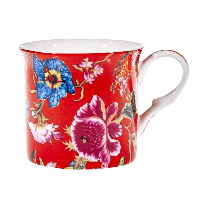 Heritage – Fine Bone China Palace Mug 300ml Anthina Red