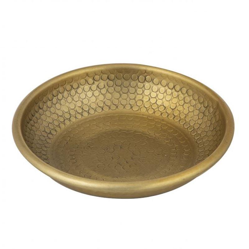 Davis & Waddell – World Gourmet Ravi Condiment Bowl Antique Gold 10x10x2cm