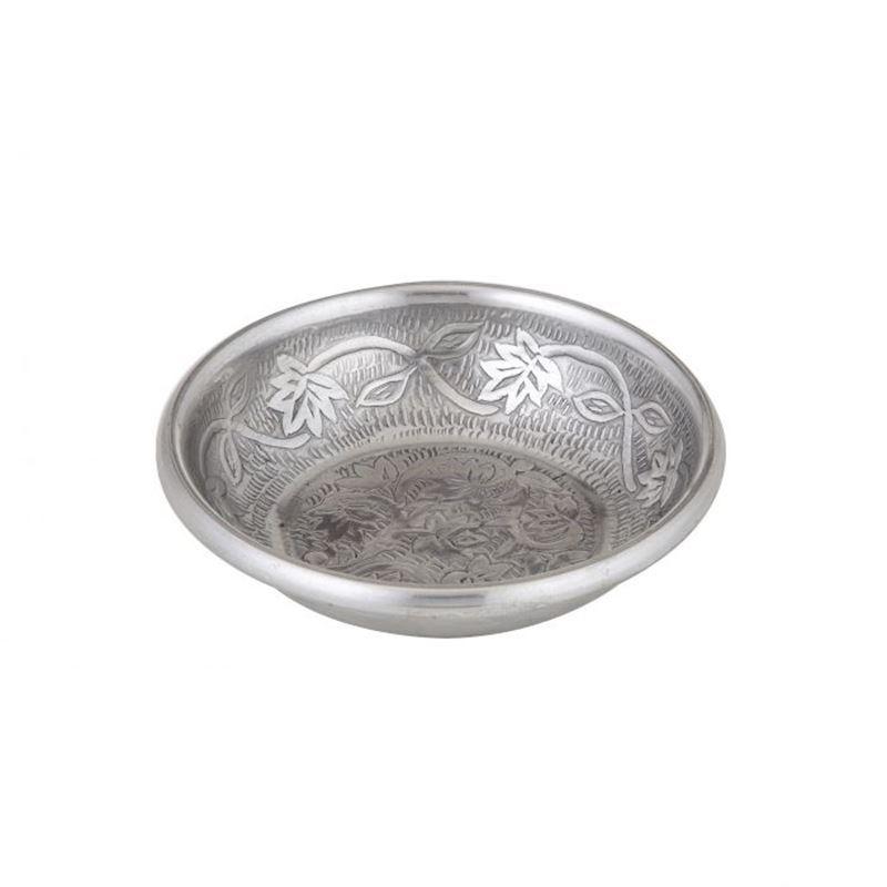 Davis & Waddell – World Gourmet Ravi Condiment Bowl Antique Silver 14x14x3cm