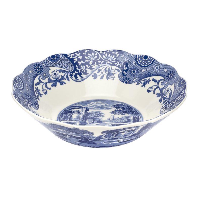 Spode – Blue Italian Daisy Bowl 25.5cm