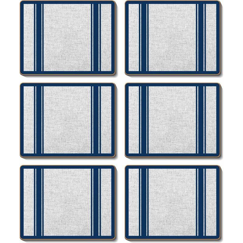 Cinnamon – Hamptons Navy Placemat 34×26.5cm Set of 6