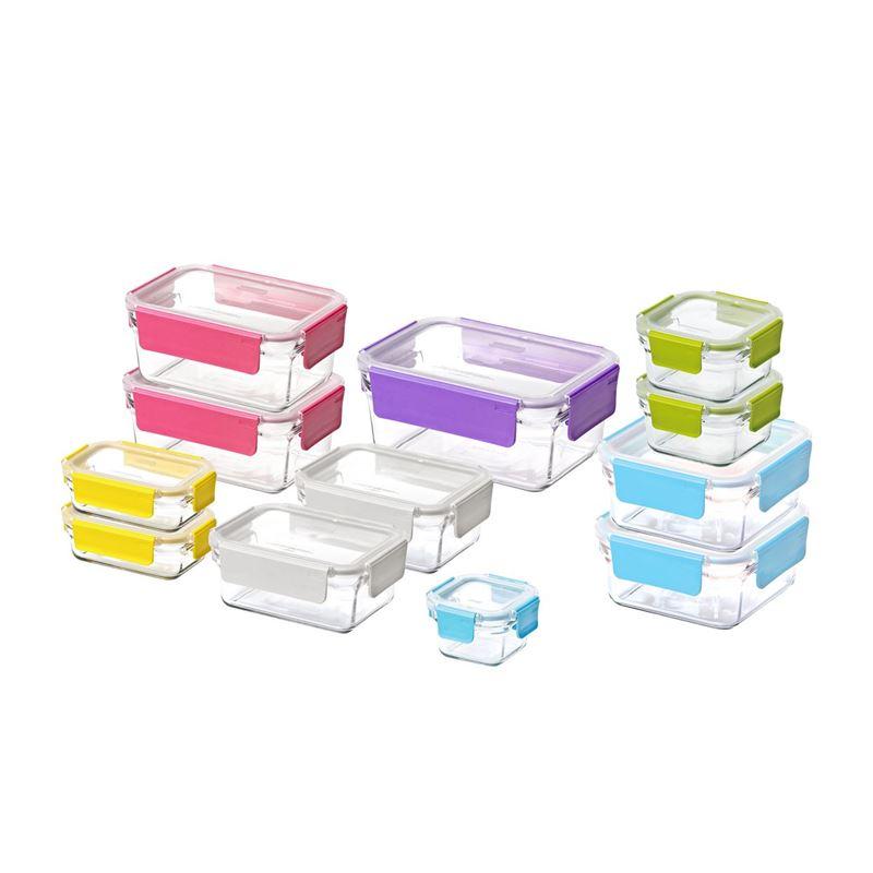 Glasslock – 12 Piece Premium OVEN SAFE Glass Container Set