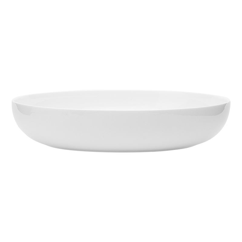 Ecology – Canvas White Fine Bone China Dinner Bowl 22cm