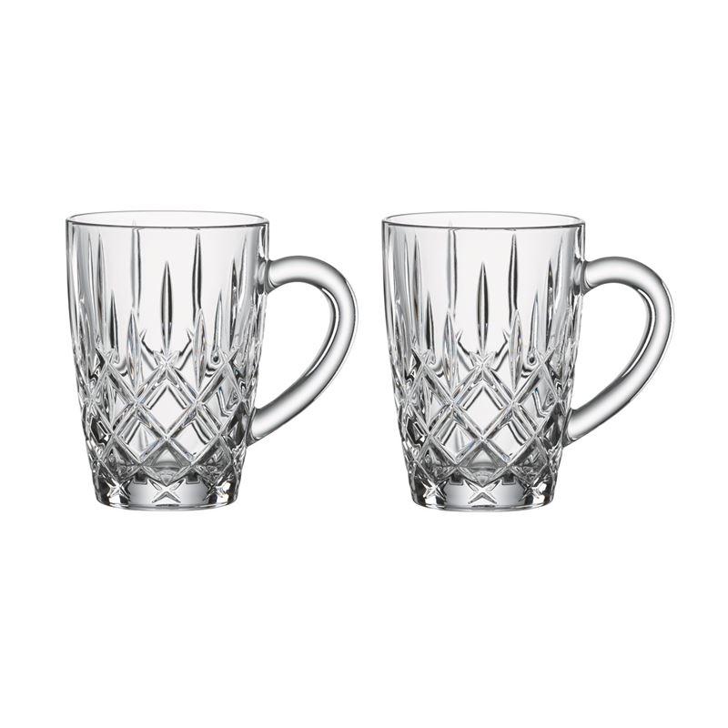 Nachtmann Crystal – Noblesse Hot Beverage Mug 350ml Set of 2 (Made in Germany)