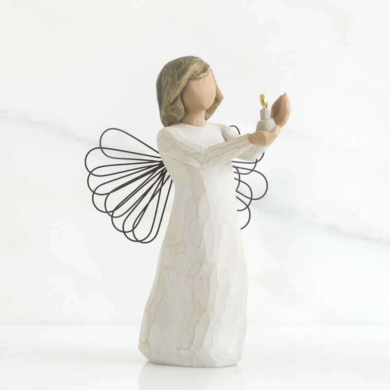 Willow Tree – Angel of Hope with Candle