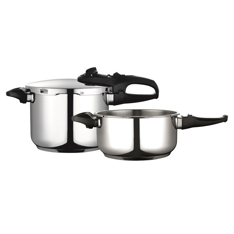 Fagor – Duo Stainless Steel Pressure Cooker Combi 4/6Ltr