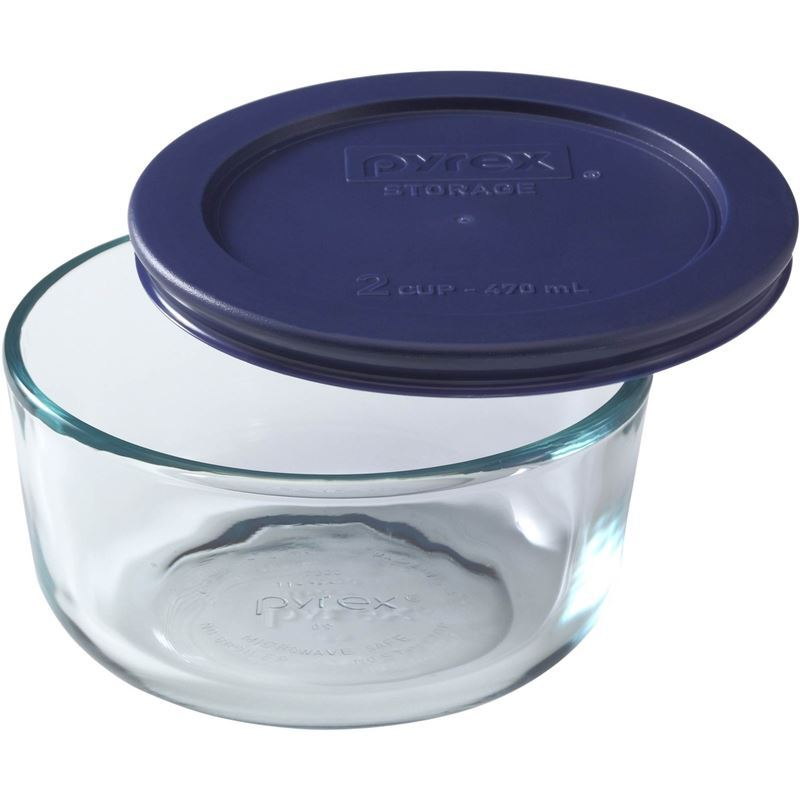 Pyrex Storage Plus -Round 500ml 2 Cup (Made in the U.S.A)
