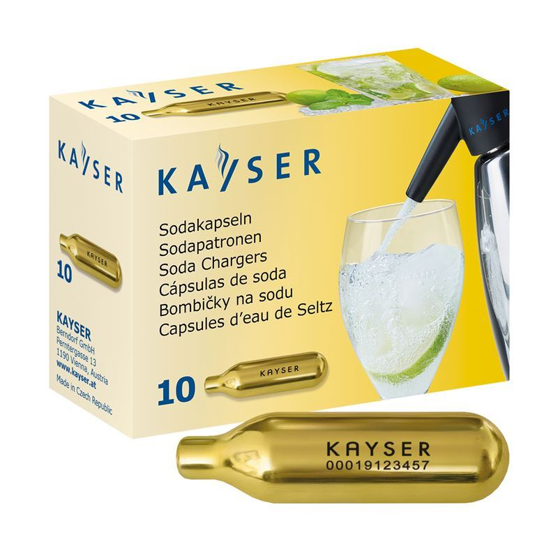 Kayser – Soda Charger Bulbs Pk10