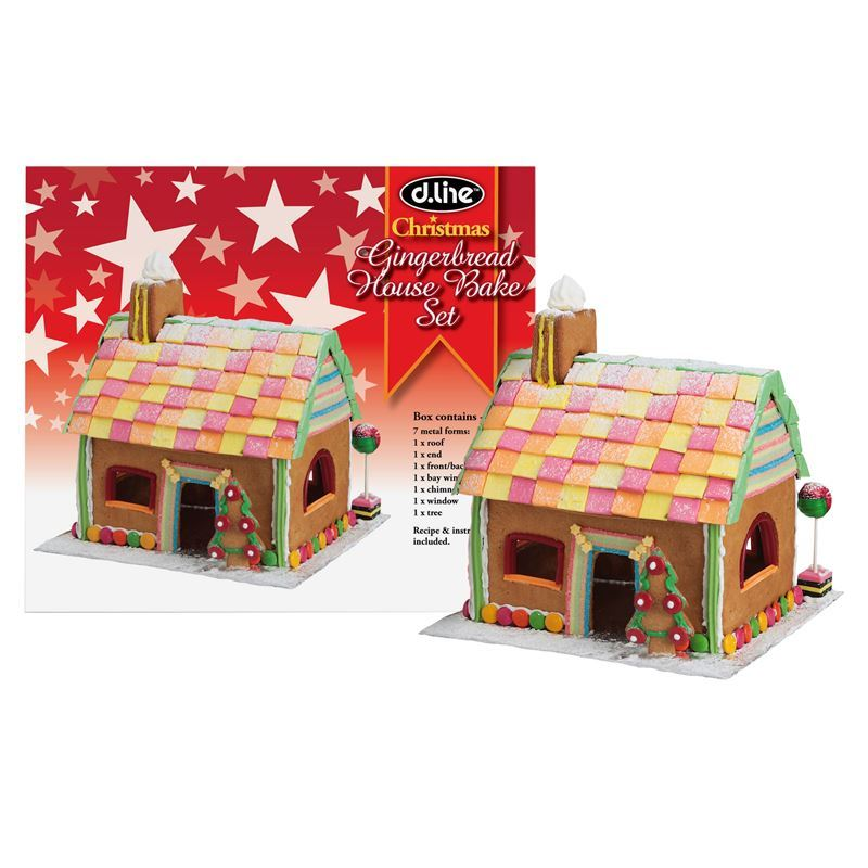 D-Line – Gingerbread House Christmas Cutter Set