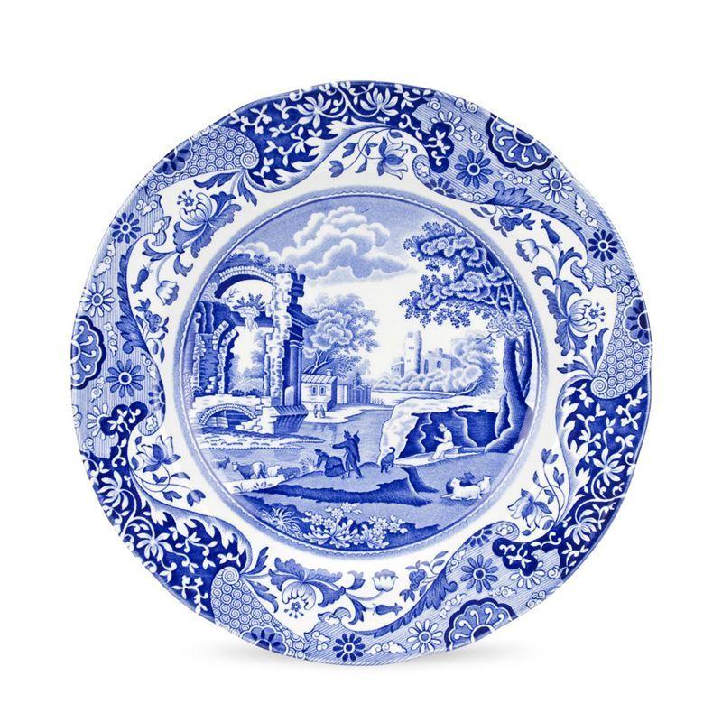 Spode – Blue Italian Dinner Plate 27cm (Made in England)