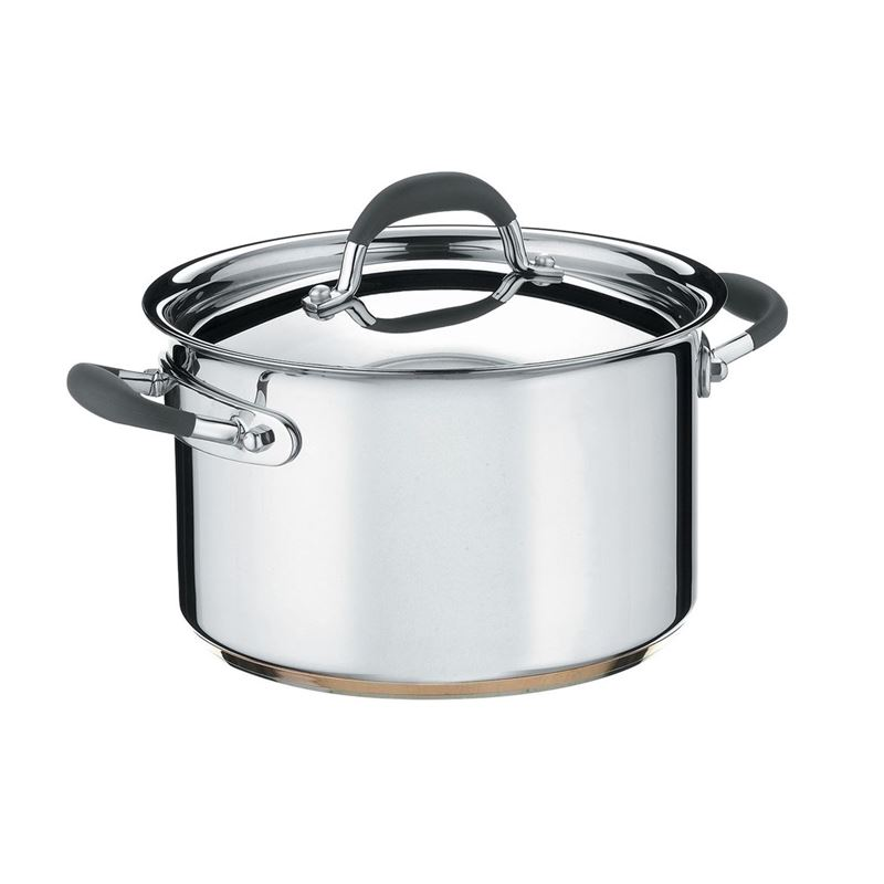 Essteele Australis – Stockpot with Lid 24cm 7.1Ltr (Made in Italy)