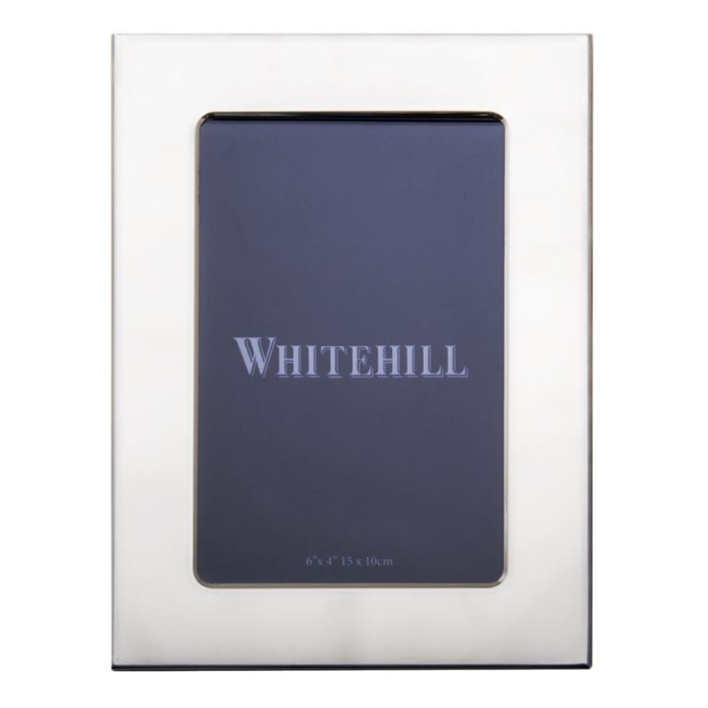 Whitehill – Silver Plated Plain Photo Frame 10x15cm