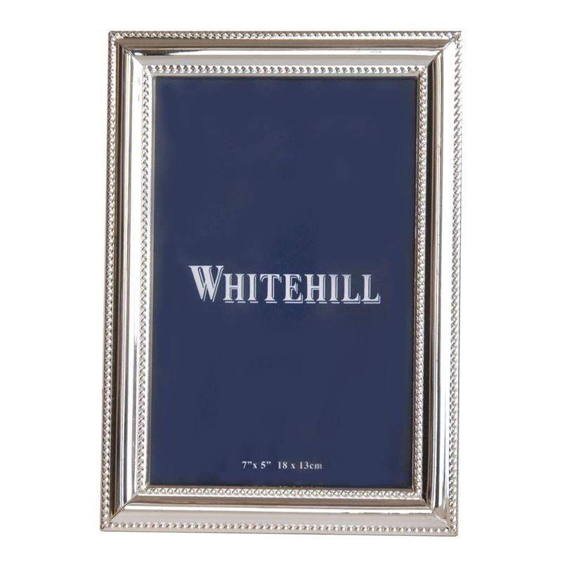Whitehill – Studio Frame, Silver Plate Bead 10x15cm