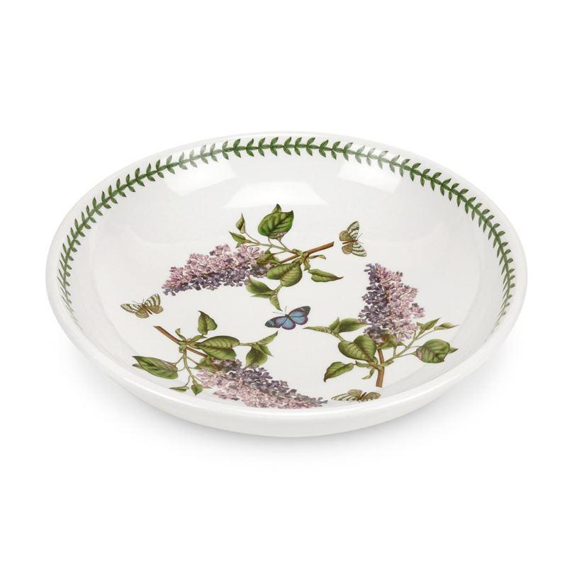 Portmeirion Botanic Garden – Low Open Fruit Bowl Garden Lilac 33cm (Made in England)