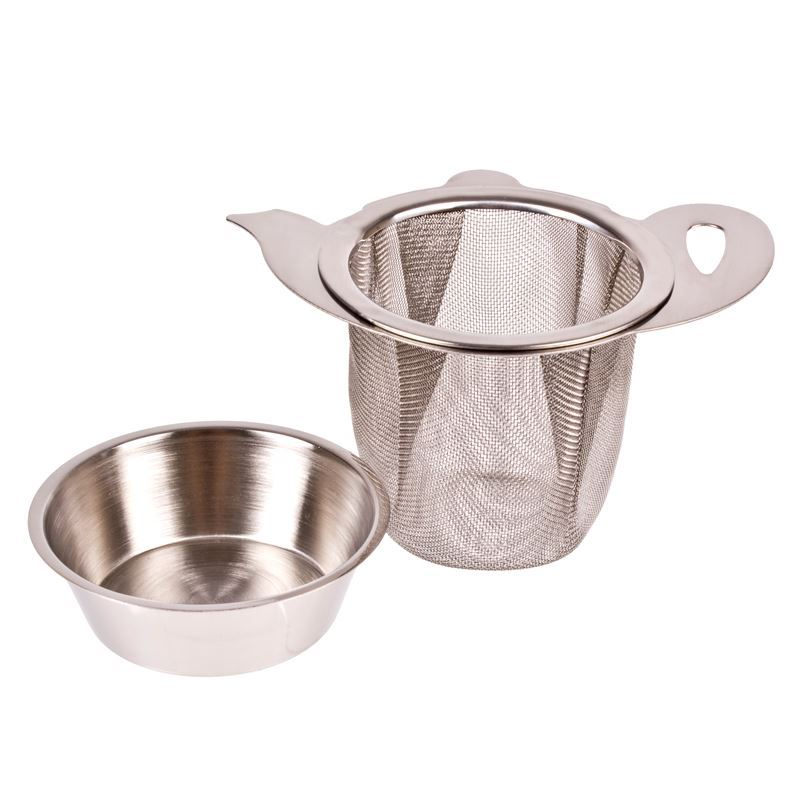 Teaology – Stainless Steel Pot/Mug Infuser with Drip Tray