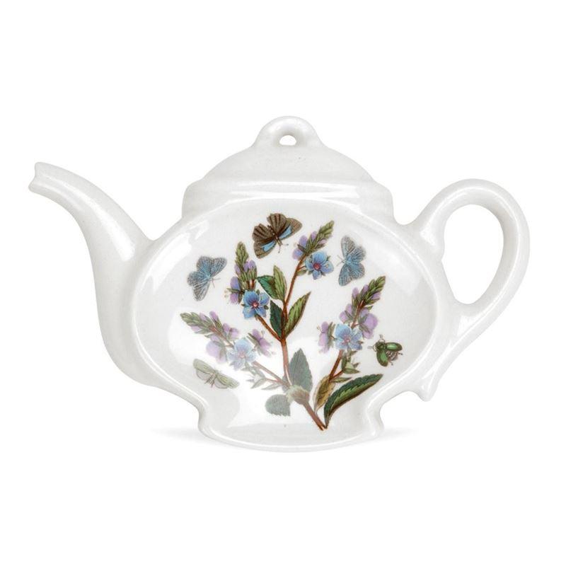 Portmeirion Botanic Garden – Teabag/Spoon Rest (Teapot) (Made in England)