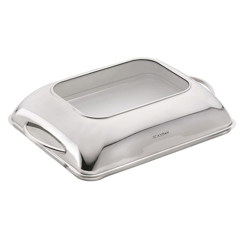 Scanpan Accessories -Classic Roaster Lid with Glassview for Meduim Scanpan Roaster  39x27cm