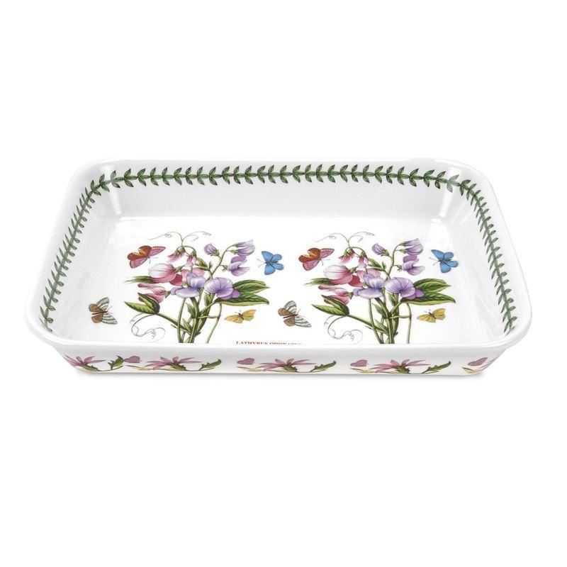 Portmeirion Botanic Garden – Lasagne Dish 36×26.5cm Sweet Pea