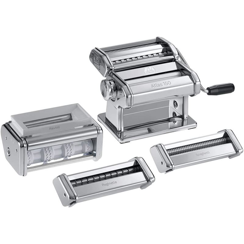 Marcato – Atlas 150 Super Deluxe Pasta Set – 6 Type (Made in Italy)