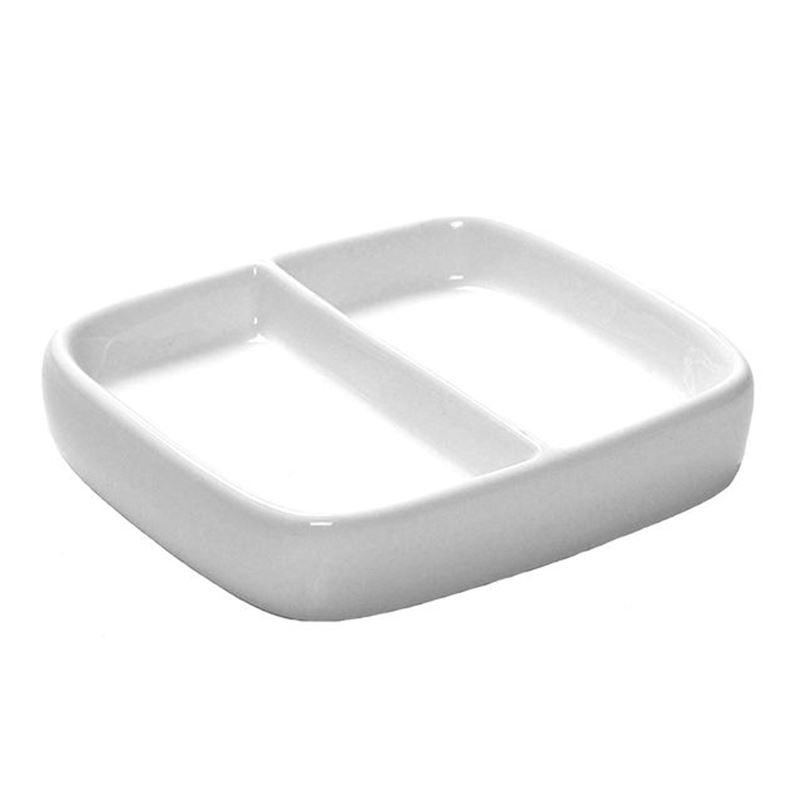 Benzer – City LifeRectangular Divided Dish 9x8cm
