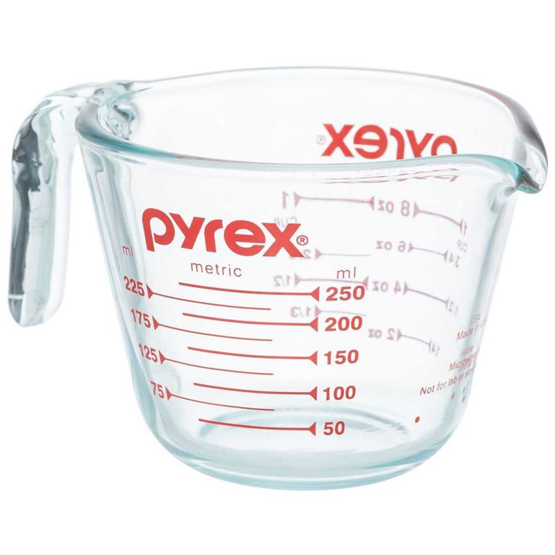 Pyrex Classic – Measuring Cup1 Cup/250ml (Made in the U.S.A)