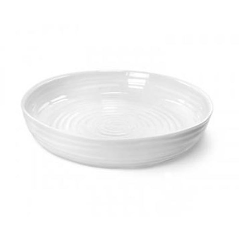 Sophie Conran for Portmeirion – Ice White Round Roasting Dish 28cm