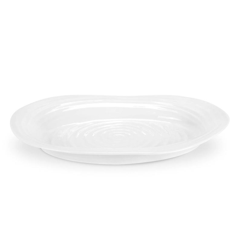 Sophie Conran for Portmeirion – Ice White Oval Platter 37x30cm