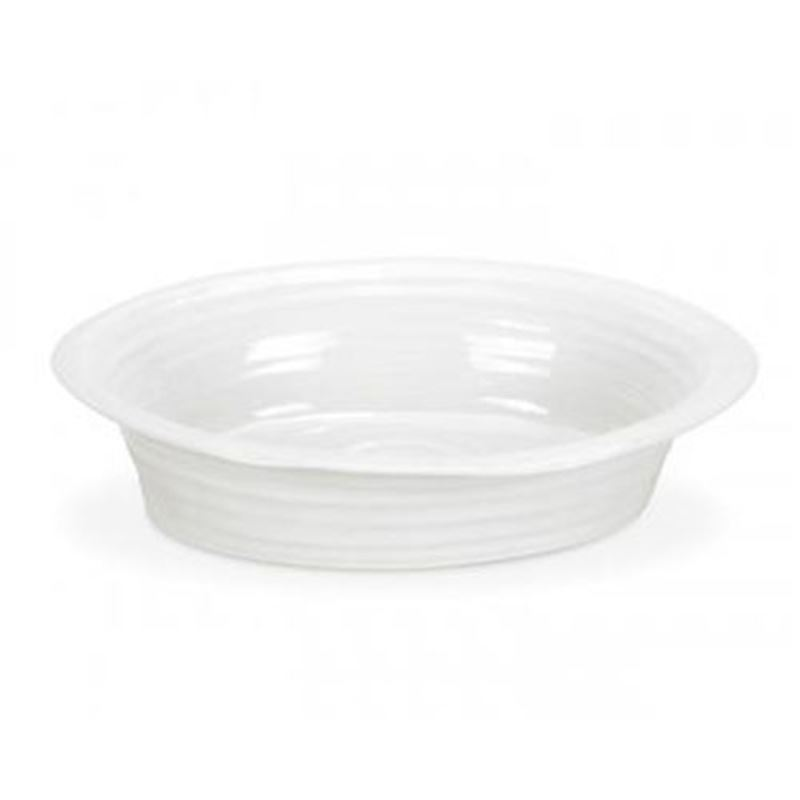 Sophie Conran for Portmeirion – Ice White Large Oval Pie Dish 27.5cm