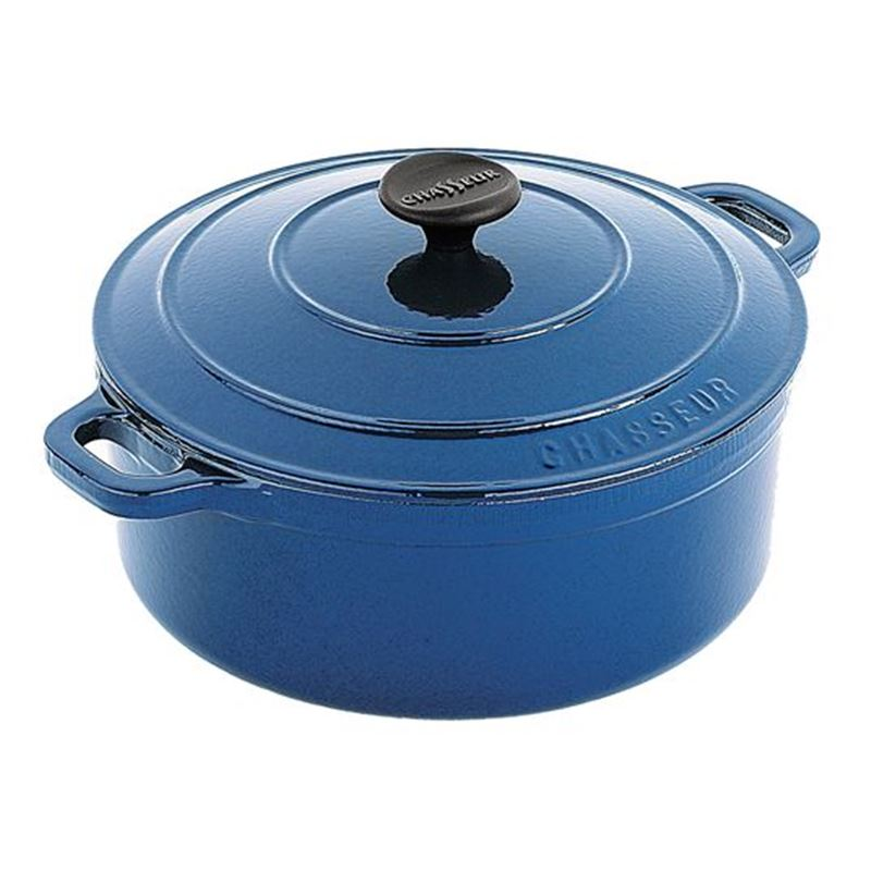 Chasseur Cast Iron – Round French Oven Sky Blue 10cm  (Made in France)