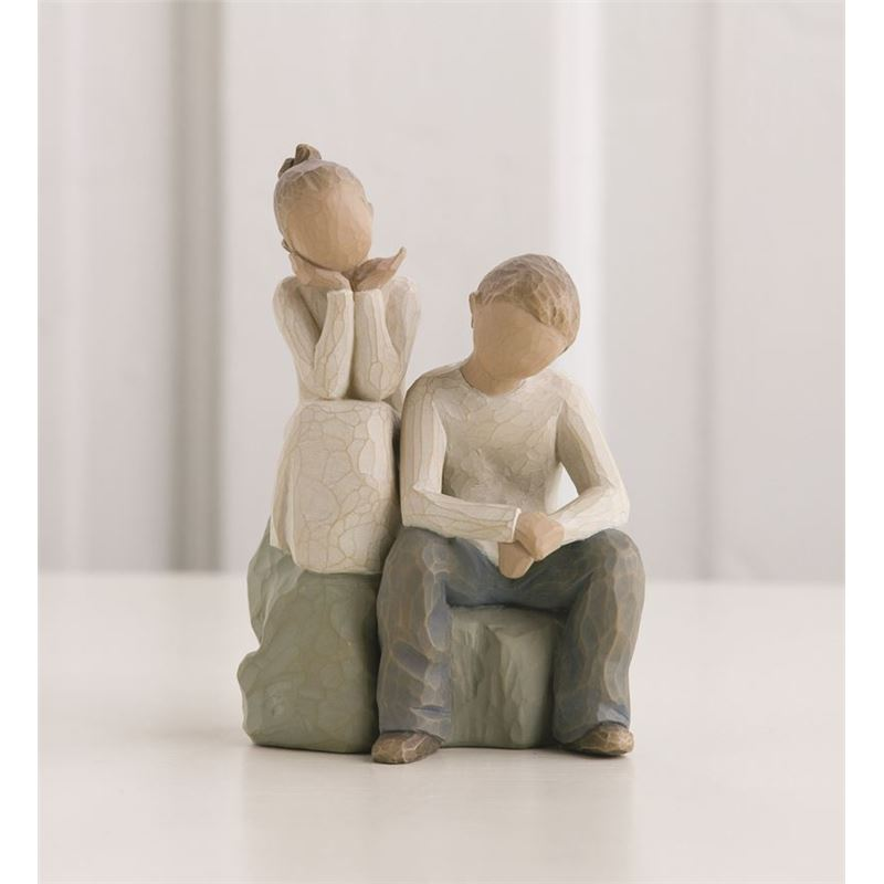 Willow Tree – Brother And Sister Figurine