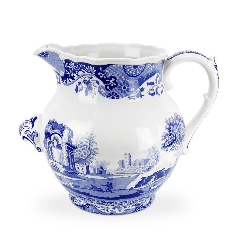 Spode – Blue Italian Large 10 Litre Dairy Jug/Vase