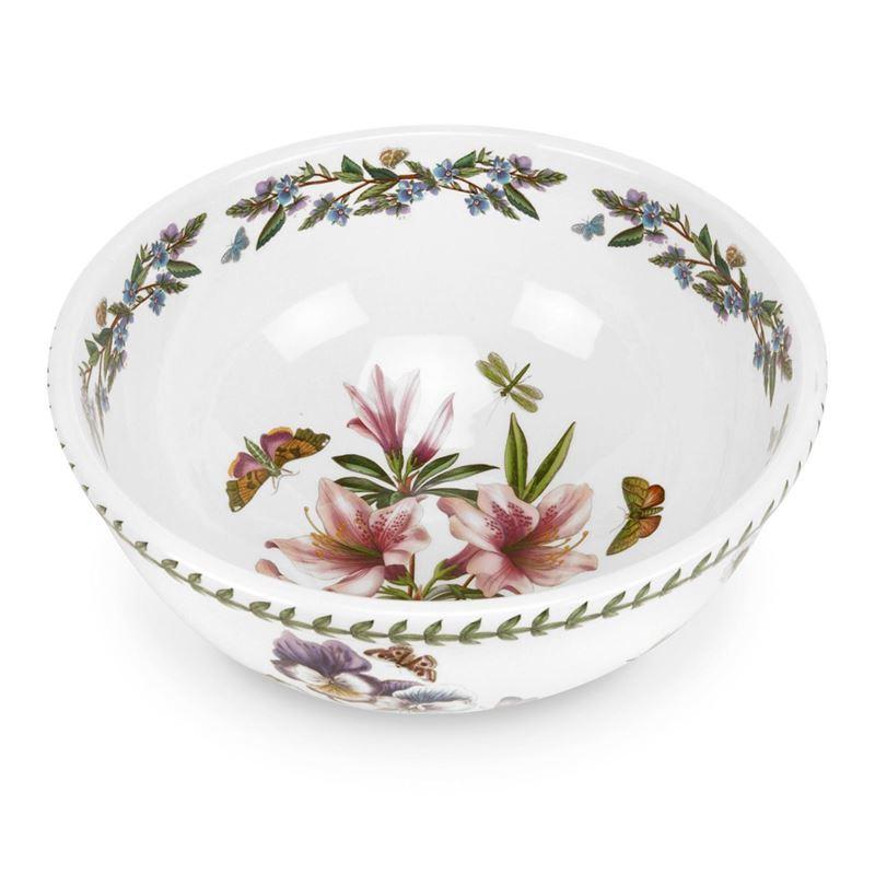 Portmeirion Botanic Garden – Centrepiece Bowl 28cm Lily Flowered Azalea (Made in England)
