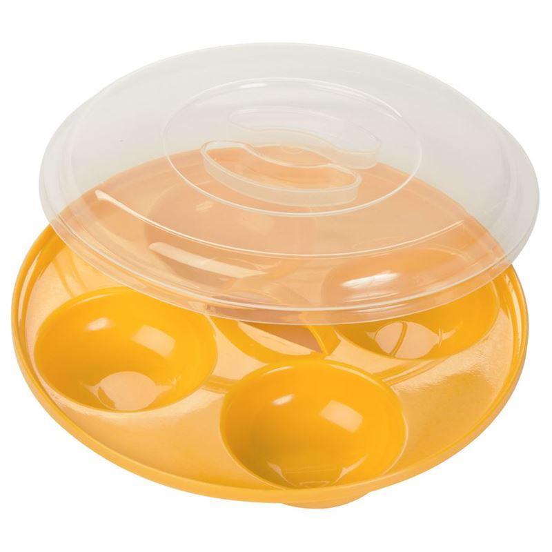 Prep Solutions by Progressive – Microwave Four Egg Poacher 21.5cm
