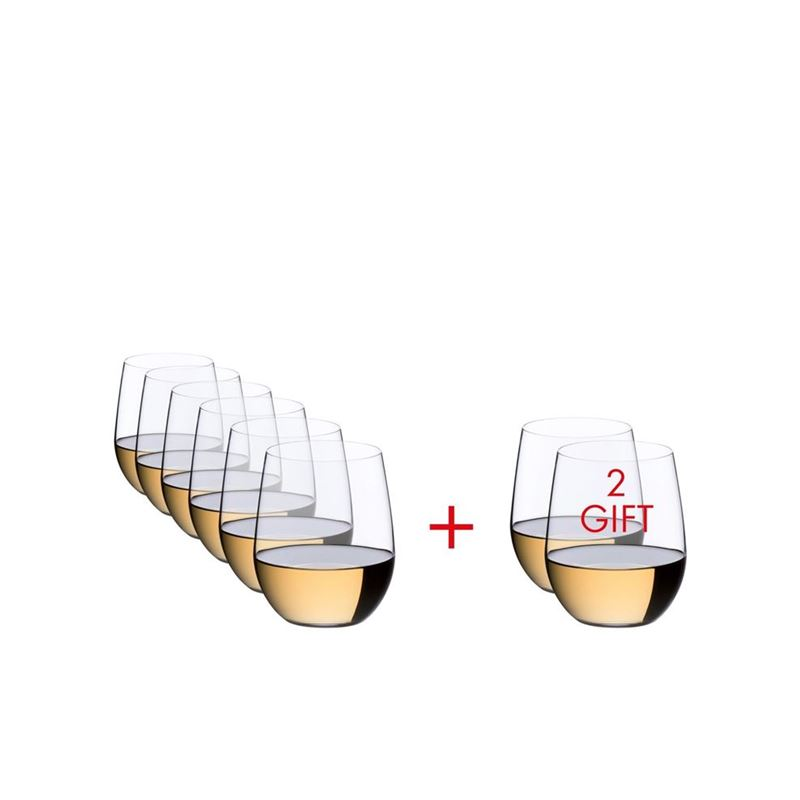 Riedel – O Viogner/Chardonnay 320ml VALUE PACK Buy 6 Get 8(Made in Germany)