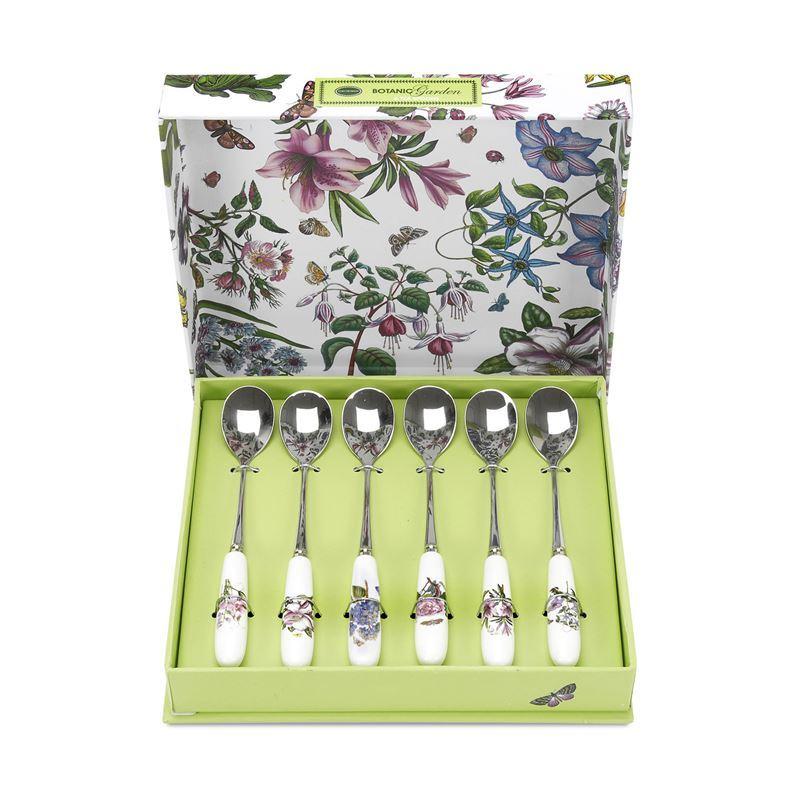 Portmeirion Botanic Garden – Teaspoon set of 6 Boxed