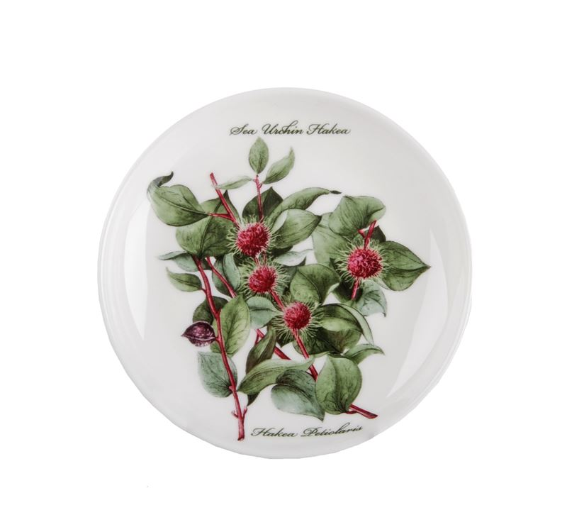 Dan Samuels Australia -Sea Urchin HakeaFine Bone China Plate/Coaster 10cm