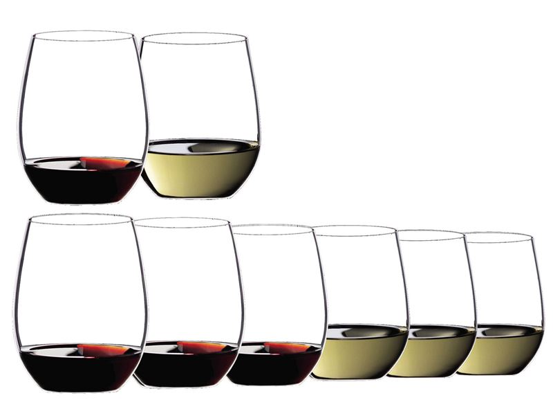 Riedel – 'O Series' Pay 6 Get 8 Cabernet Merlot/Voigner(Made in Germany)