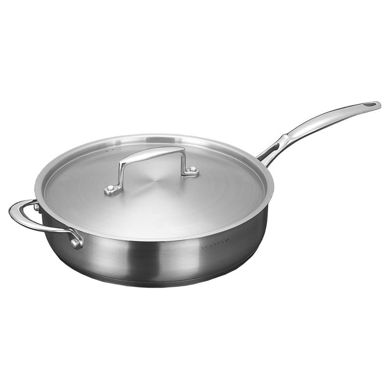 Scanpan – Satin Sauté Pan with Lid 28cm 3.2Ltr