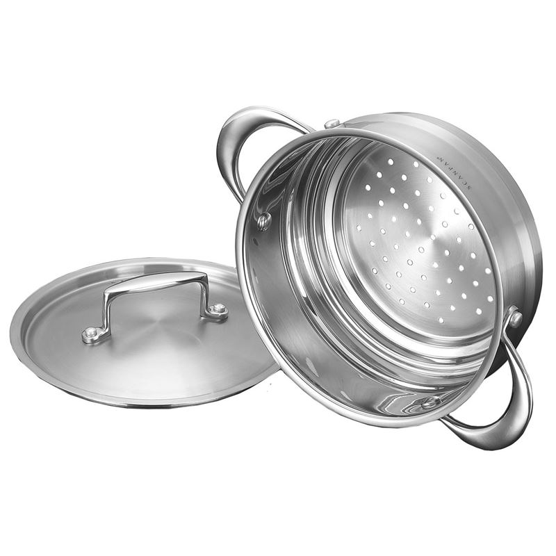 Scanpan – Satin Universal Steamer with Lid