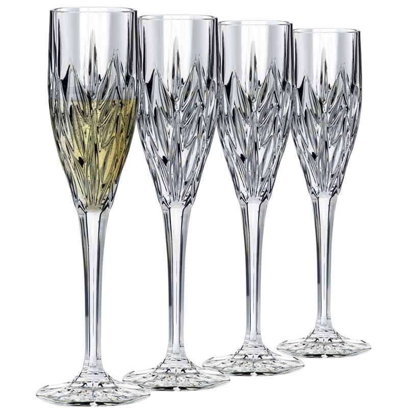 Dan Samuels – CologneLead CrystalChampagne 130ml Set of 4Made in Germany by Nachtmann