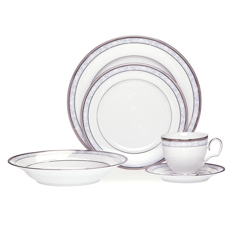Noritake – Hampshire Platinum 20pc Dinner Set
