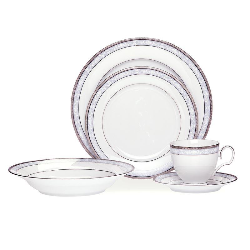 Noritake – Hampshire Platinum 20pc Dinner Set