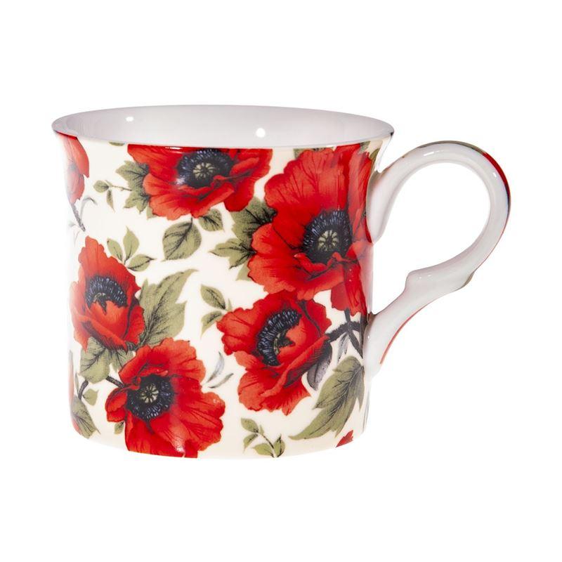Heritage – Palace Fine Bone China Mug Red Poppy