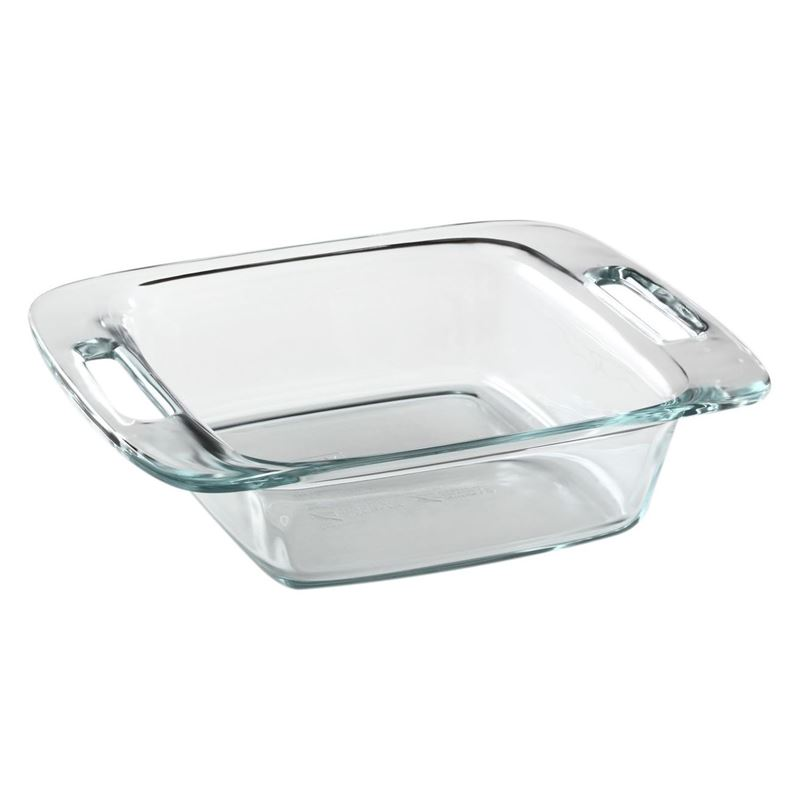 Pyrex – Easy Grab Square Dish 27.9×22.5x7cm (Made in the U.S.A)